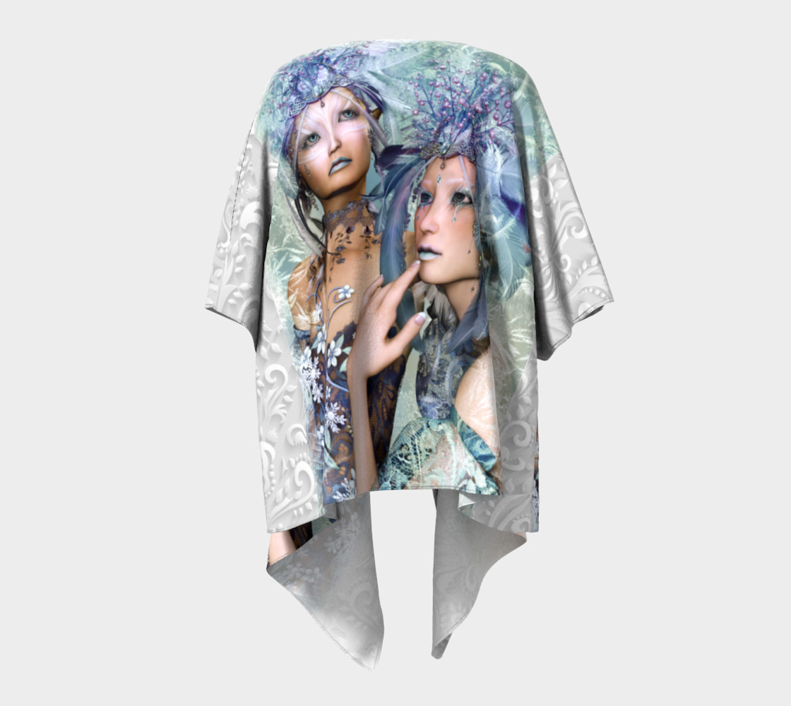 Aperçu de Elves Soul Sisters  Warrior Princesses Draped Kimono #4