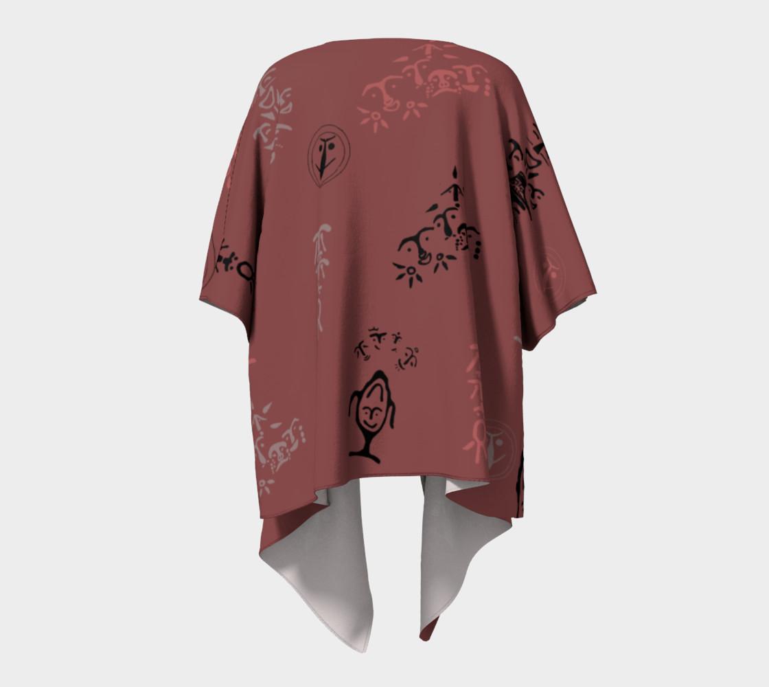 Maroon Kimono preview #4