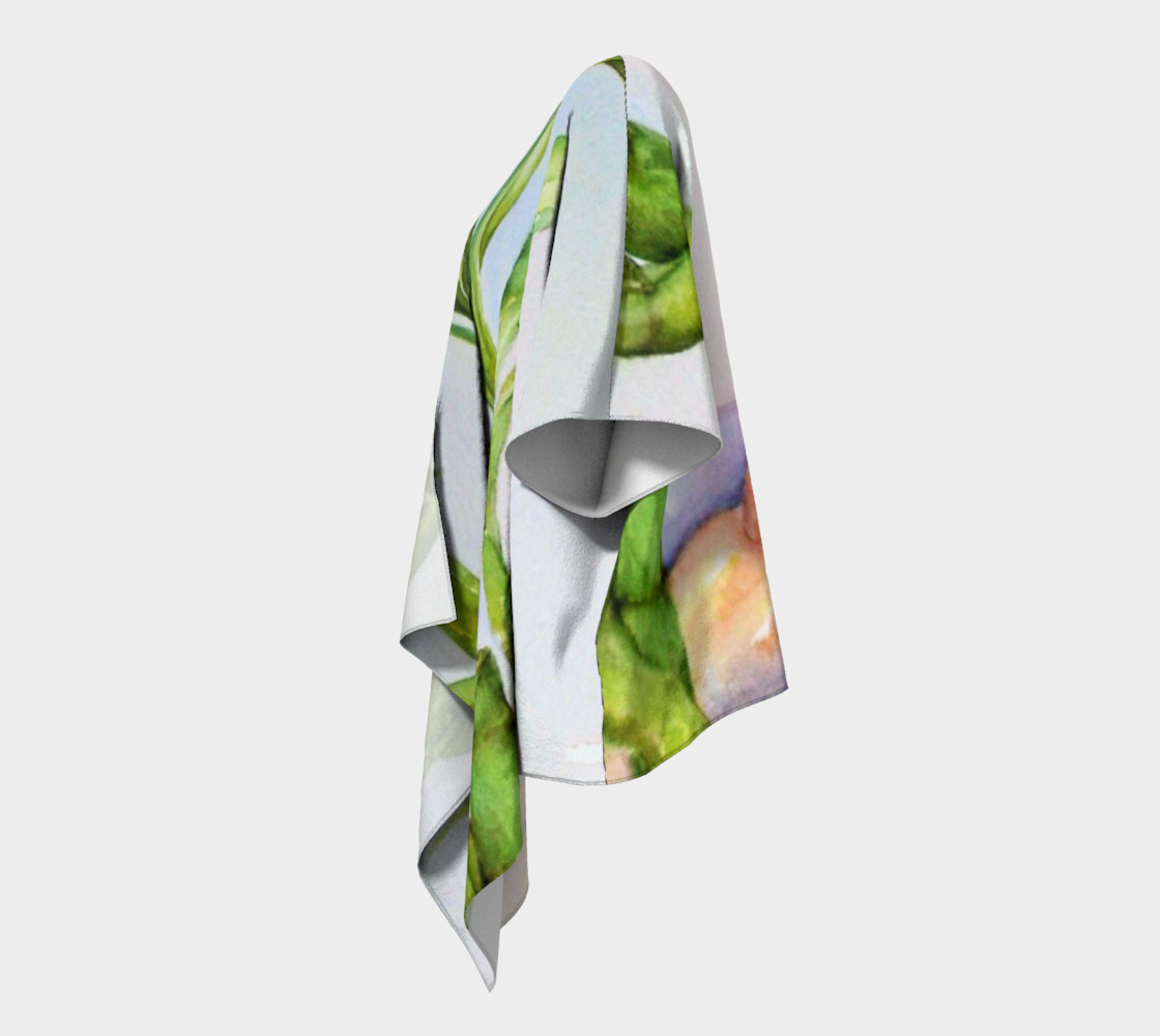Watercolor Lucky Bamboo with Colorful Rocks preview #2