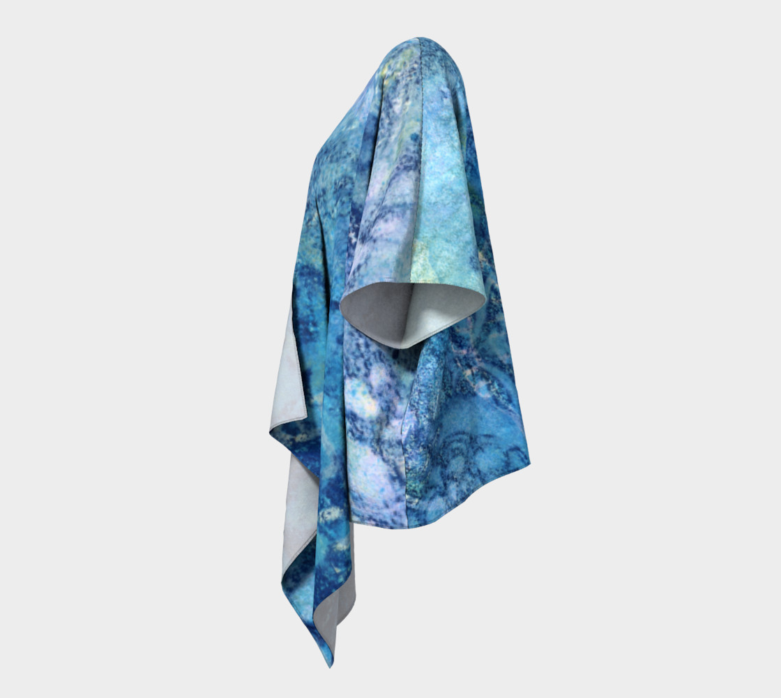 Aperçu de Gathering Blue Draped Kimono #2