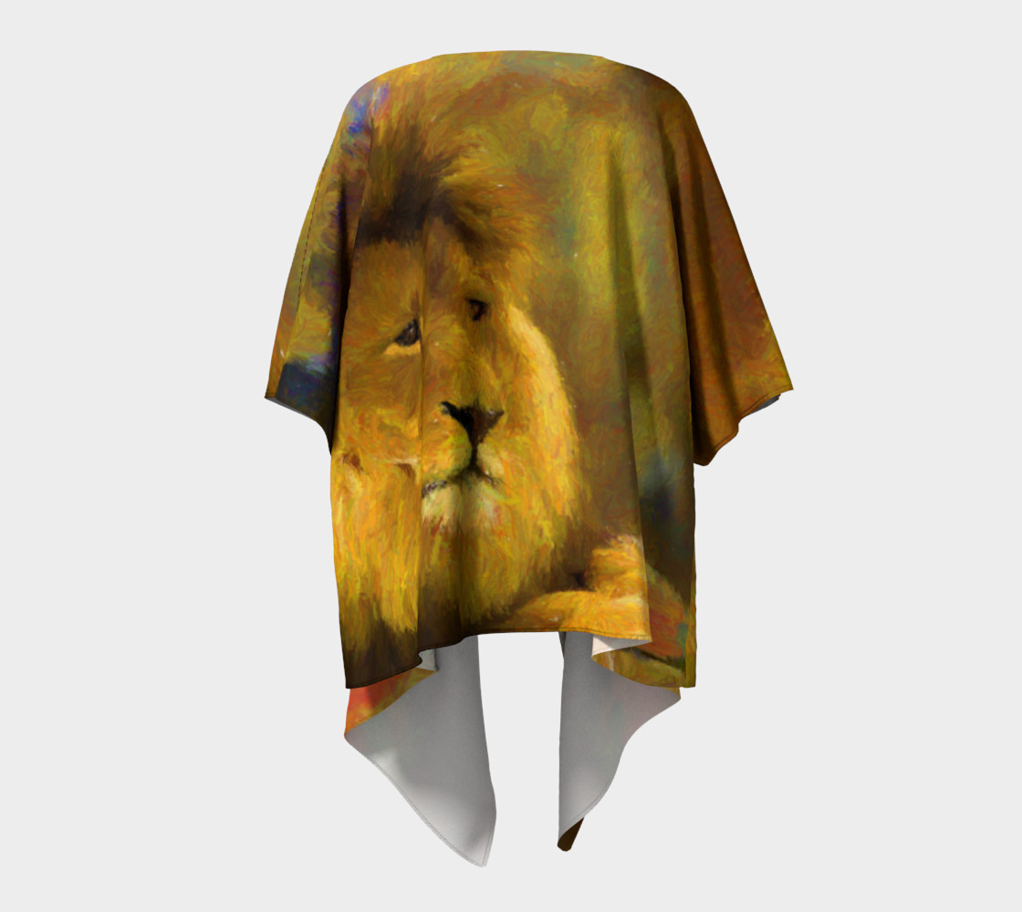 GOLDEN LION DRAPE thumbnail #5