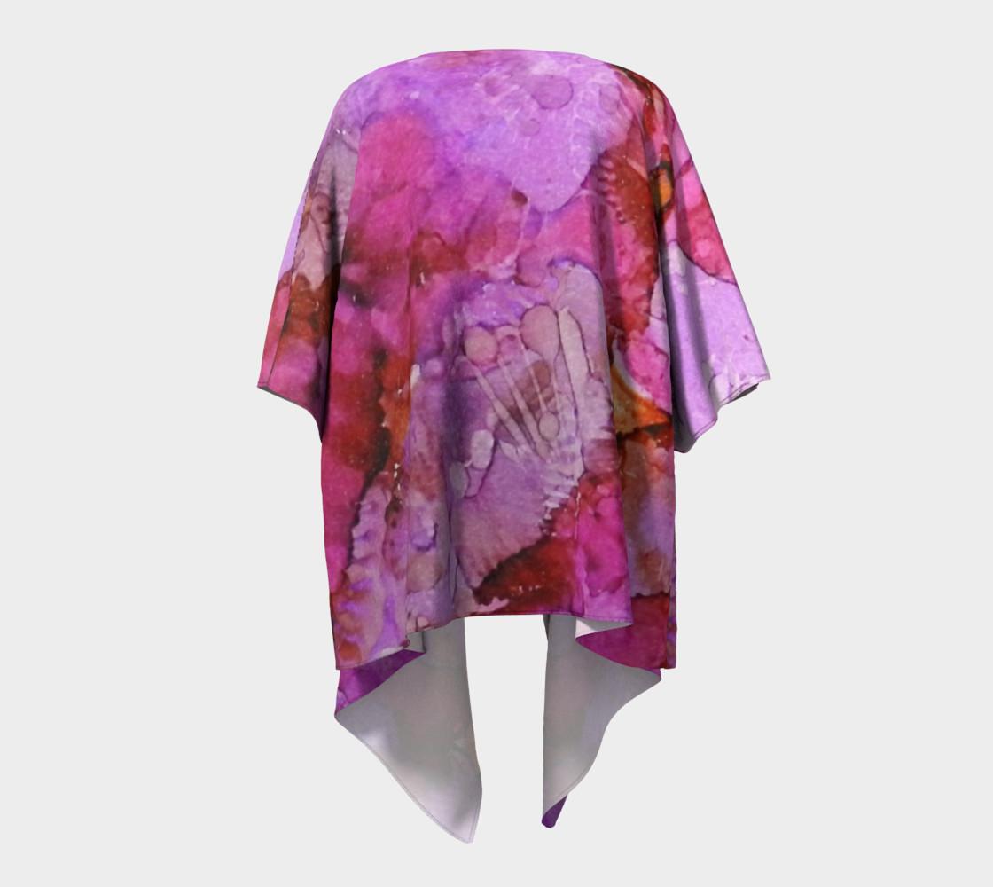 Blossoms Ink #1Draped Kimono preview #4