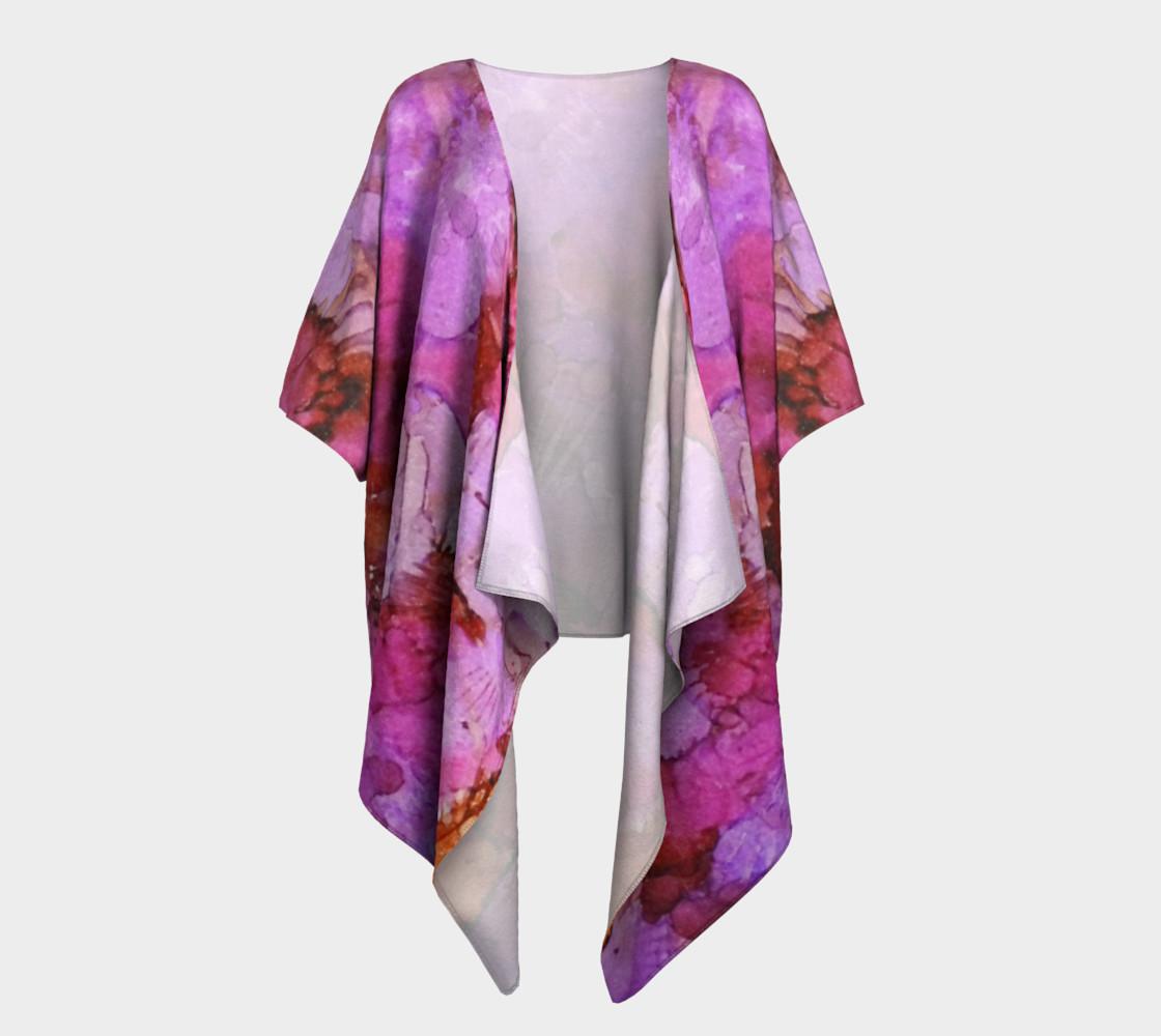 Blossoms Ink #1Draped Kimono preview #1