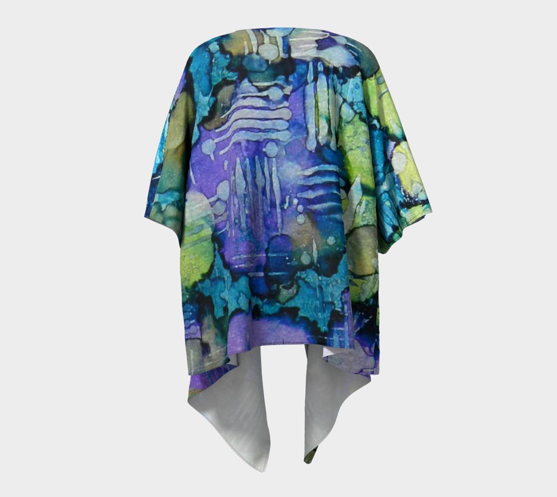 Spring Weave Ink #4 Drapaed Kimono preview #4