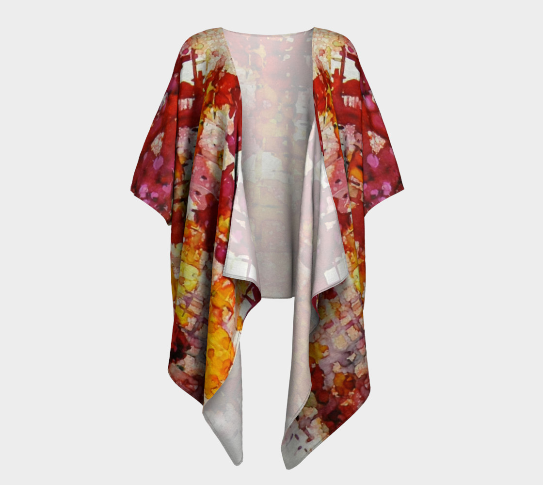 Flare Up Ink #8 Draped Kimono preview #1