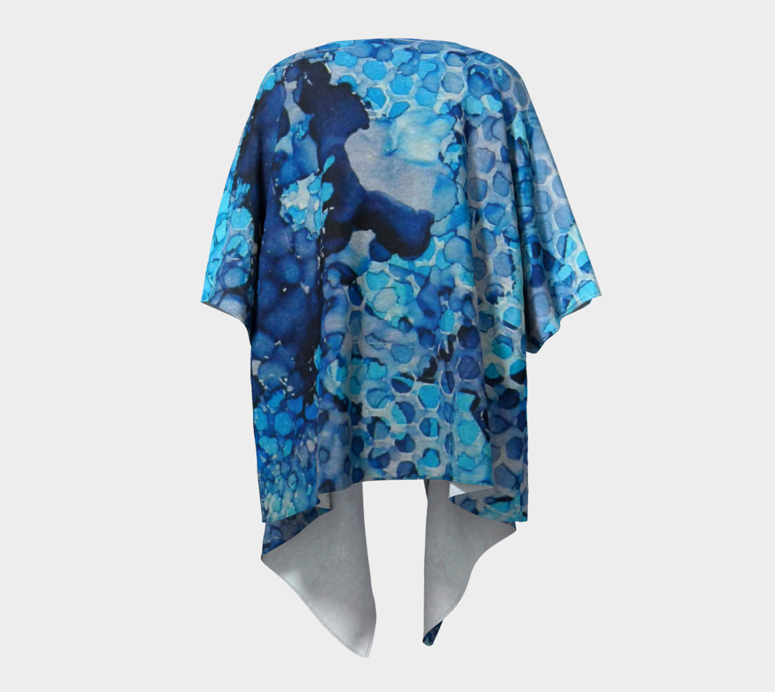 Beekeeper Blues Ink #13 Draped Kimono preview #4