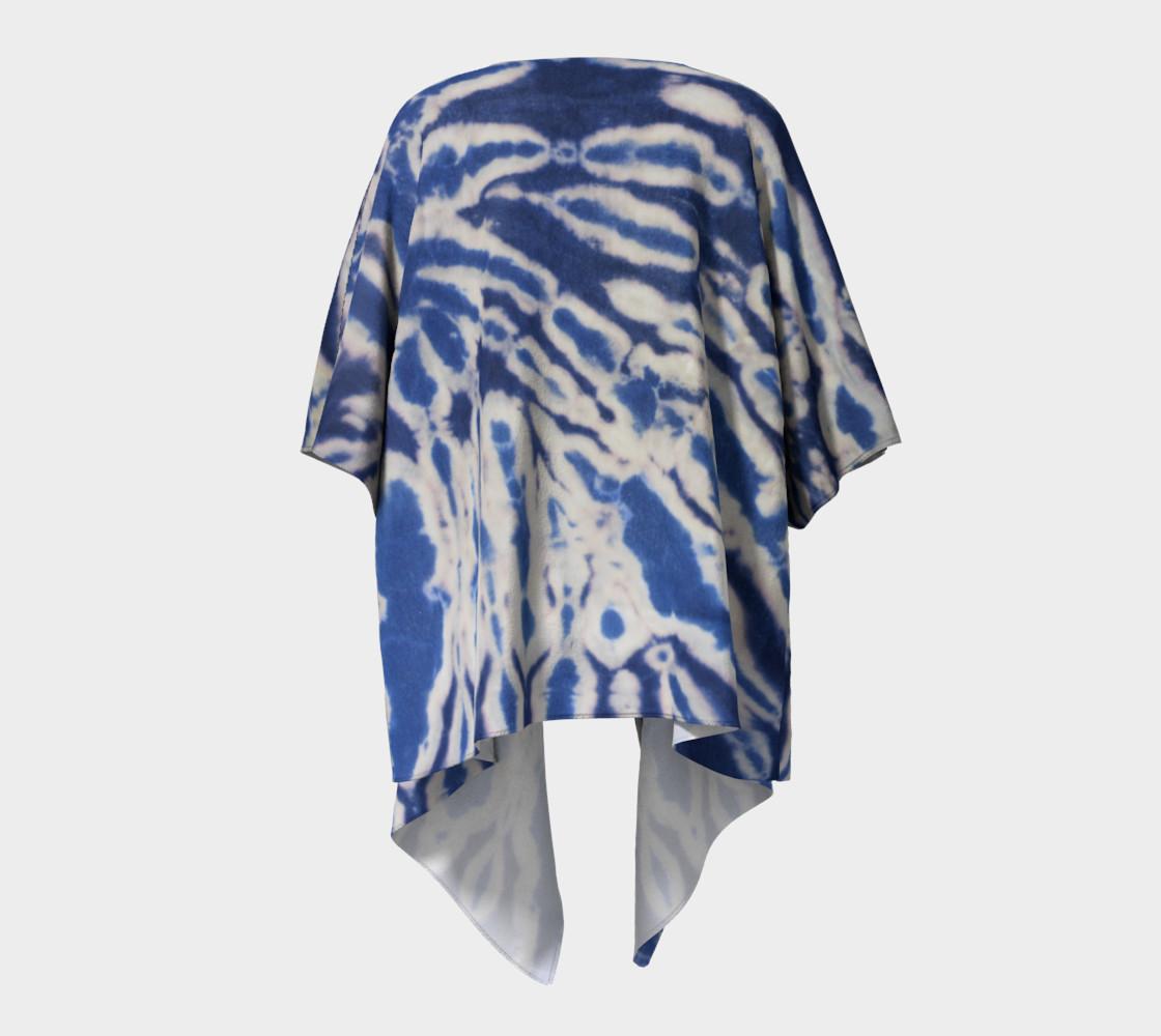Shibori #1 Draped Kimono preview #4