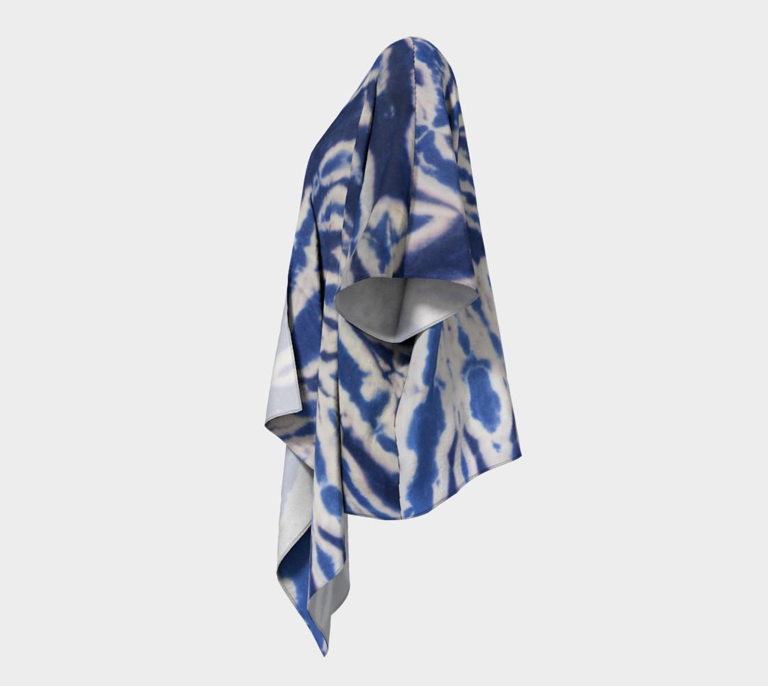 Shibori #1 Draped Kimono preview #2