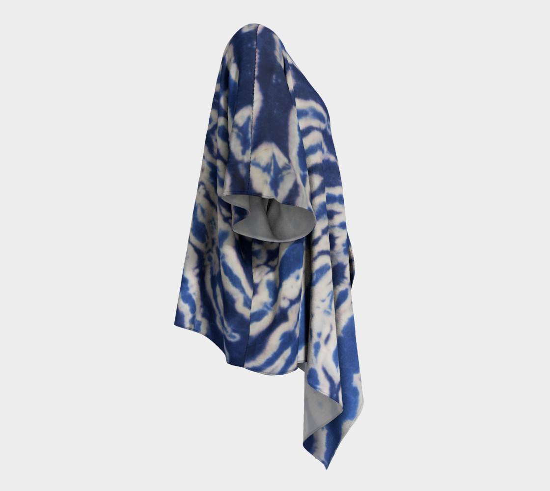 Shibori #1 Draped Kimono preview #3