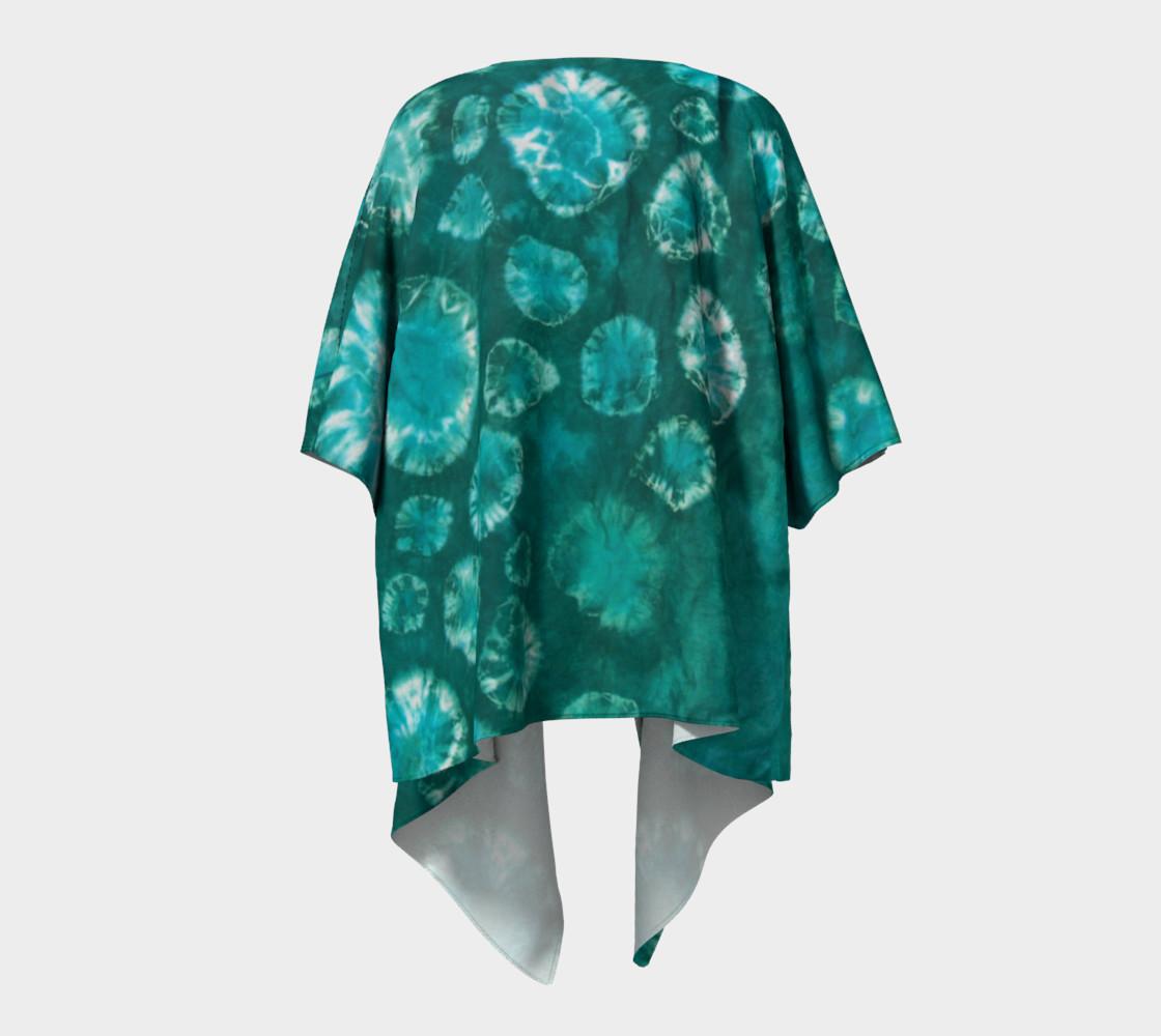 Aperçu de Shibori #2 Draped Kimono #4