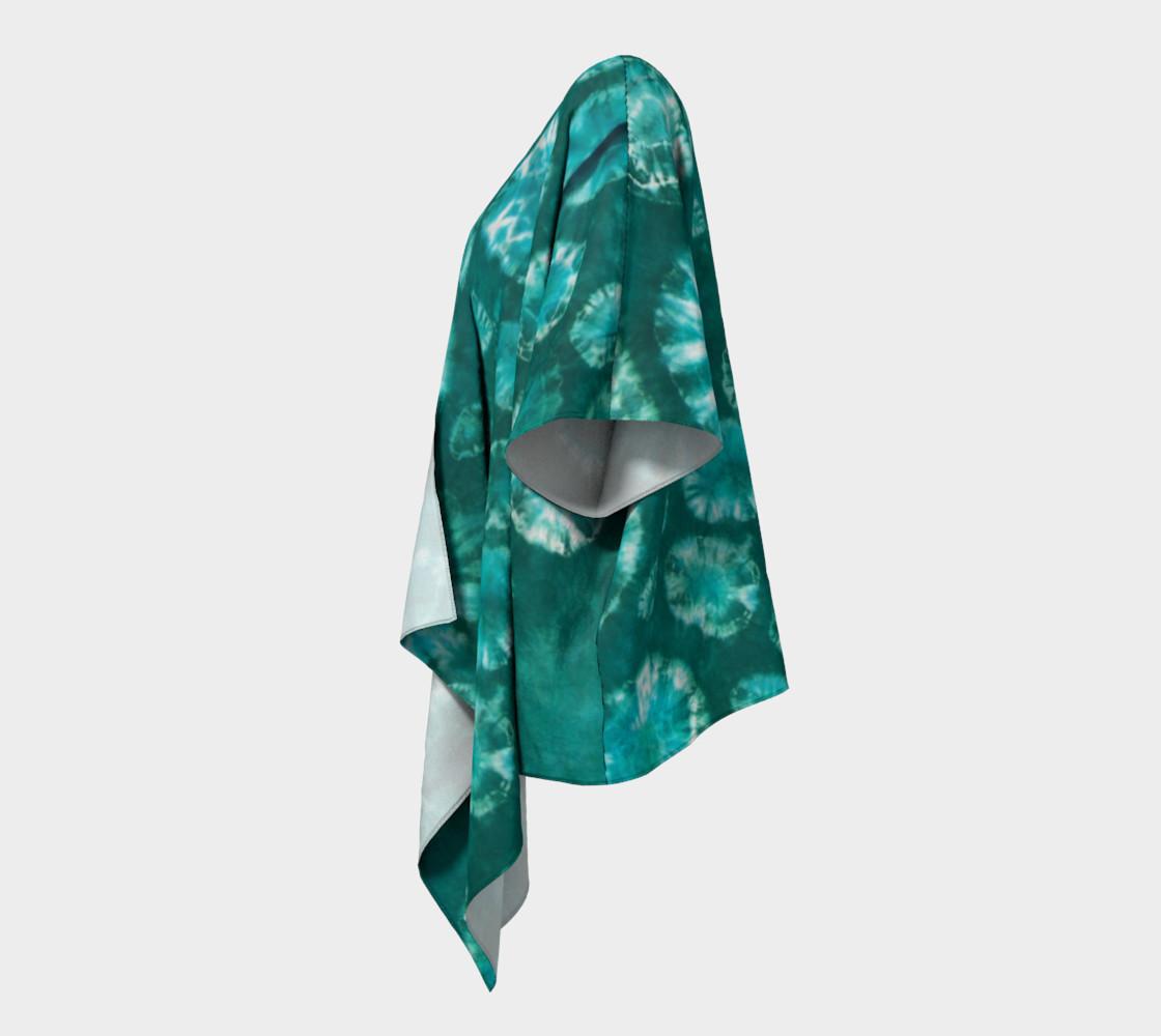 Aperçu de Shibori #2 Draped Kimono #2