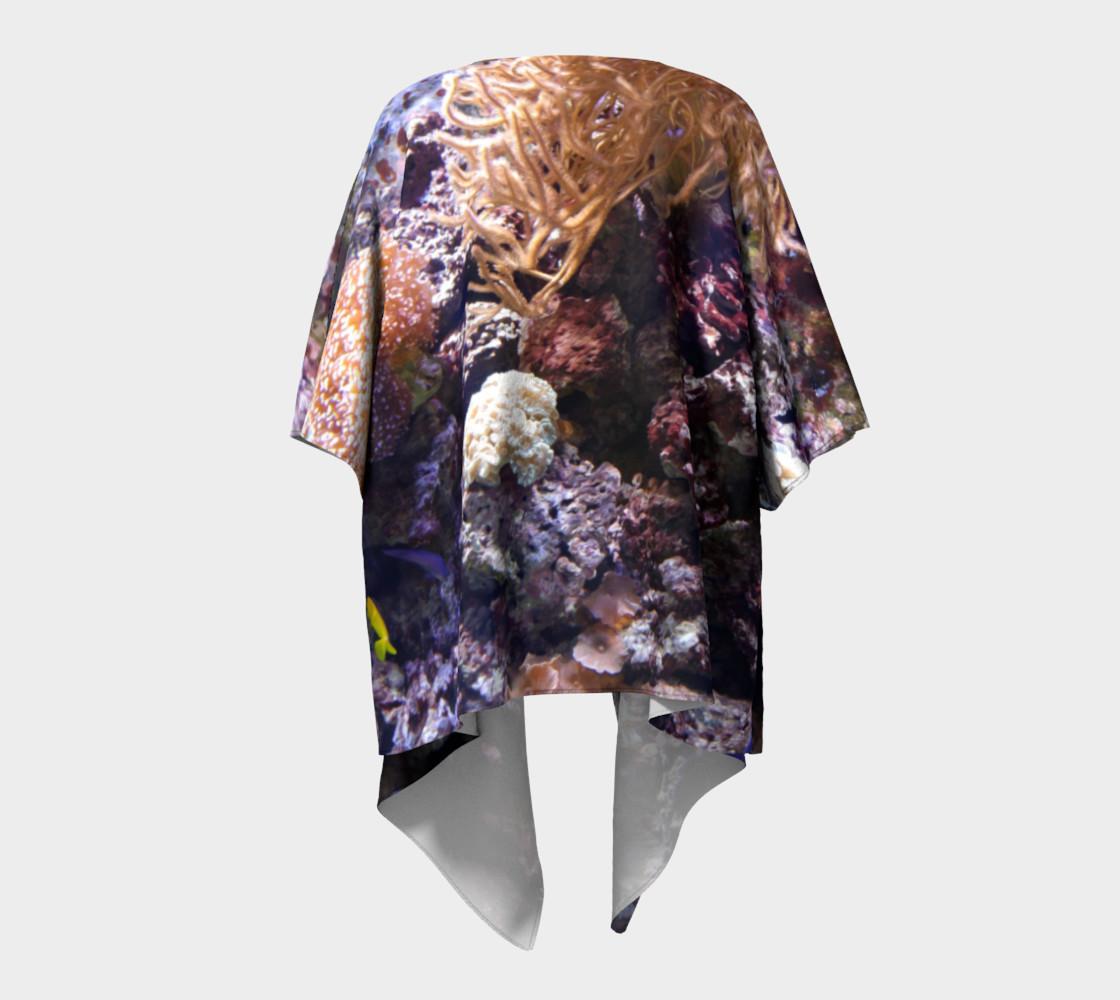 Coral Reef Draped Kimono preview #4