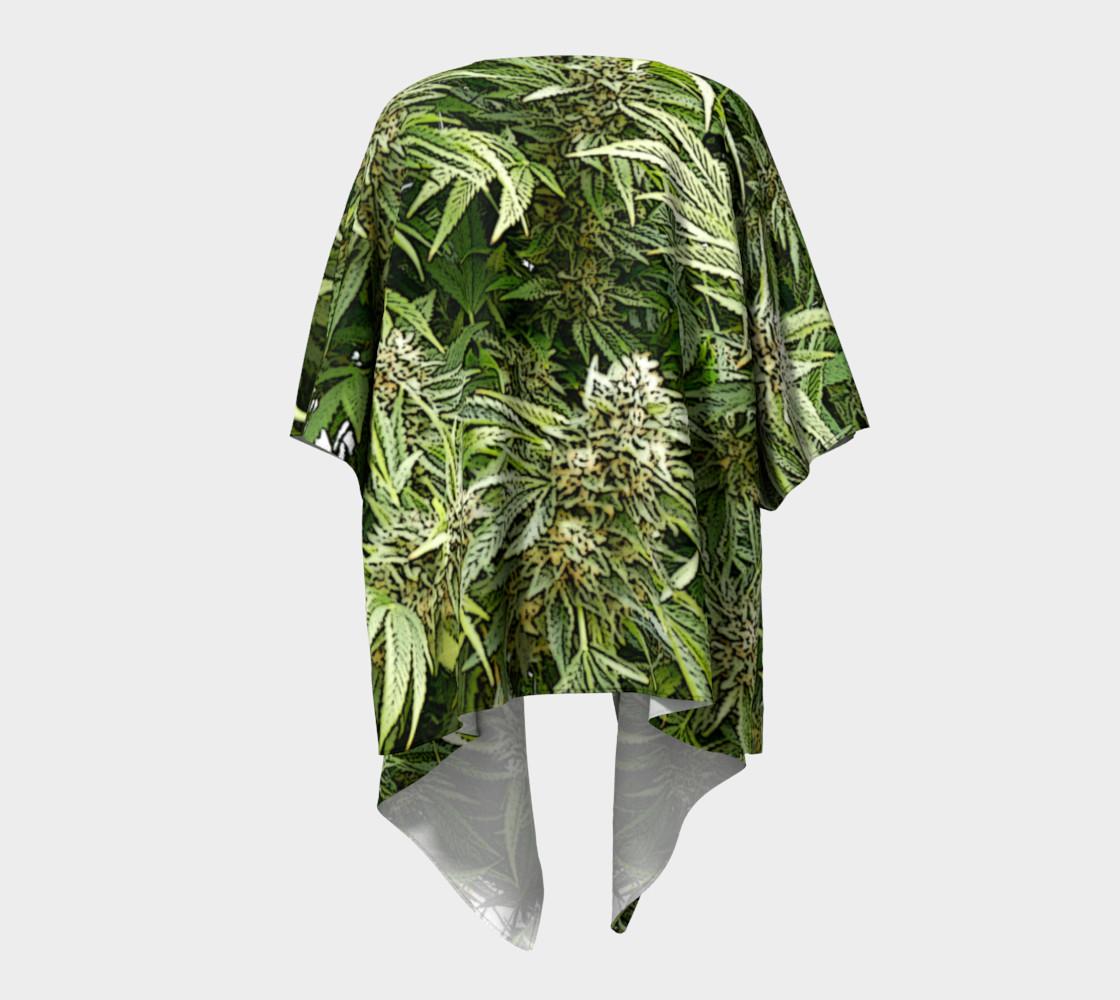 Hemp #4 Draped Kimono preview #4
