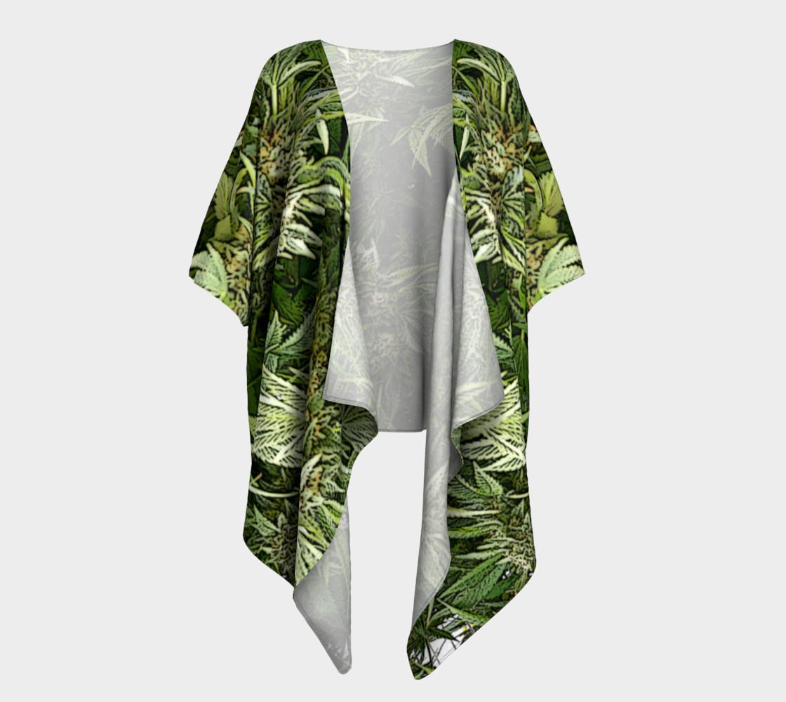 Hemp #4 Draped Kimono preview #1