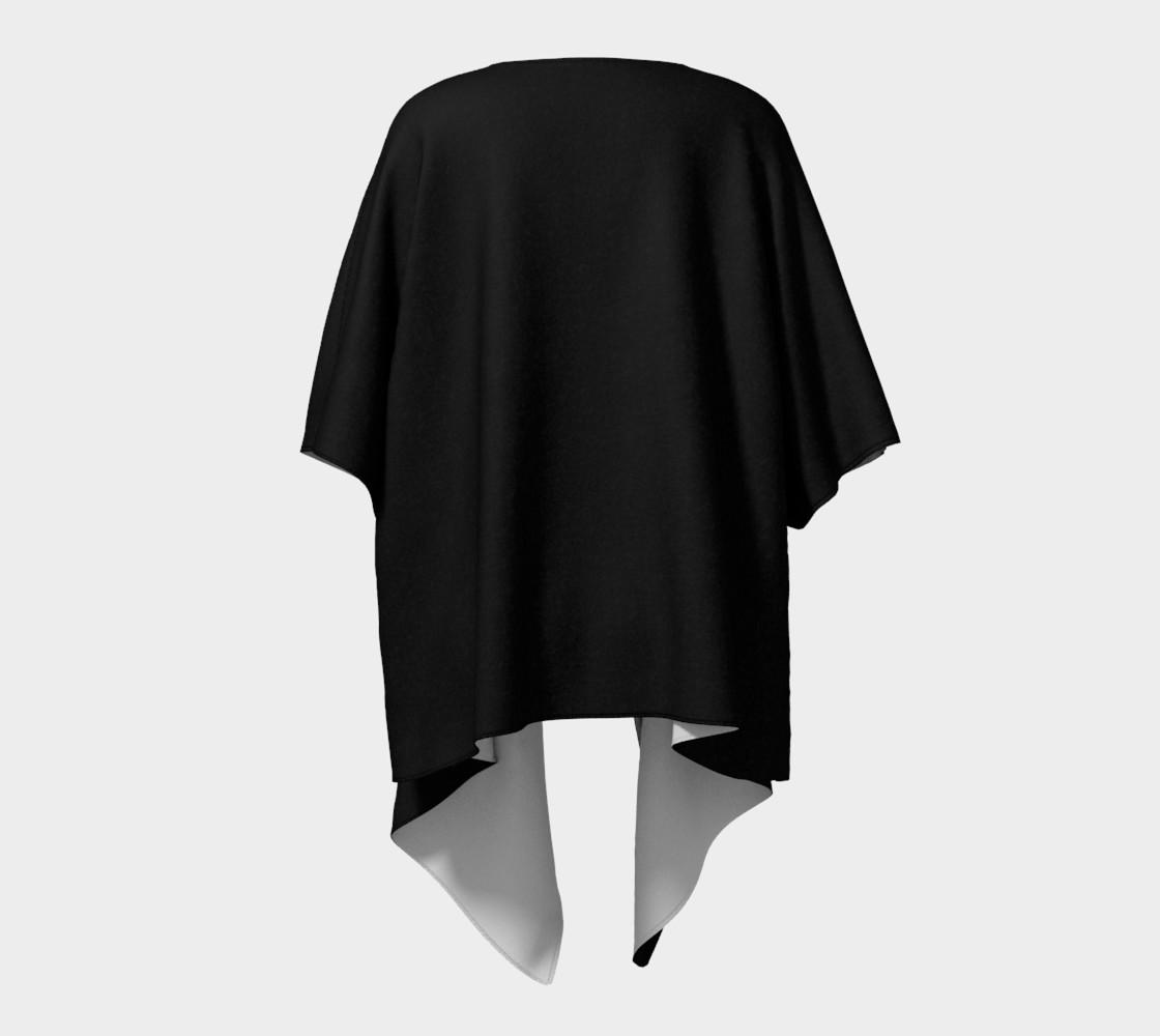 Charcoal | Draped Kimono preview #4