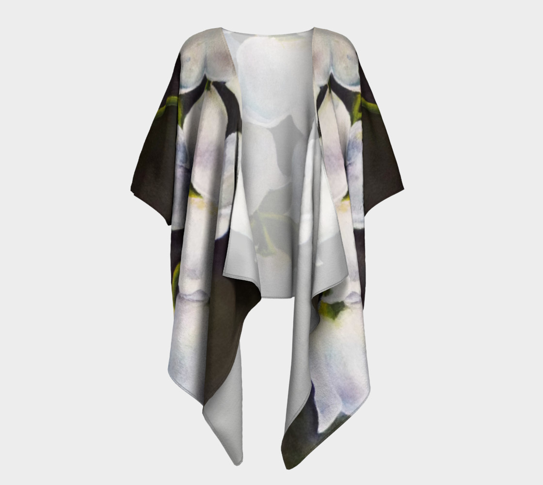 Lily of the Valley Draped Kimono preview #1