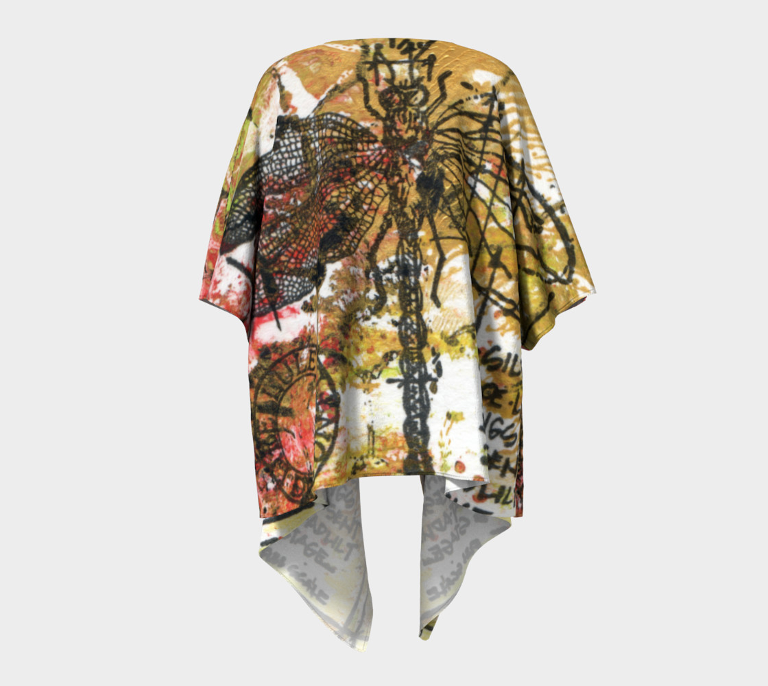 Aperçu de Dragon Fly Gold Kimono #4