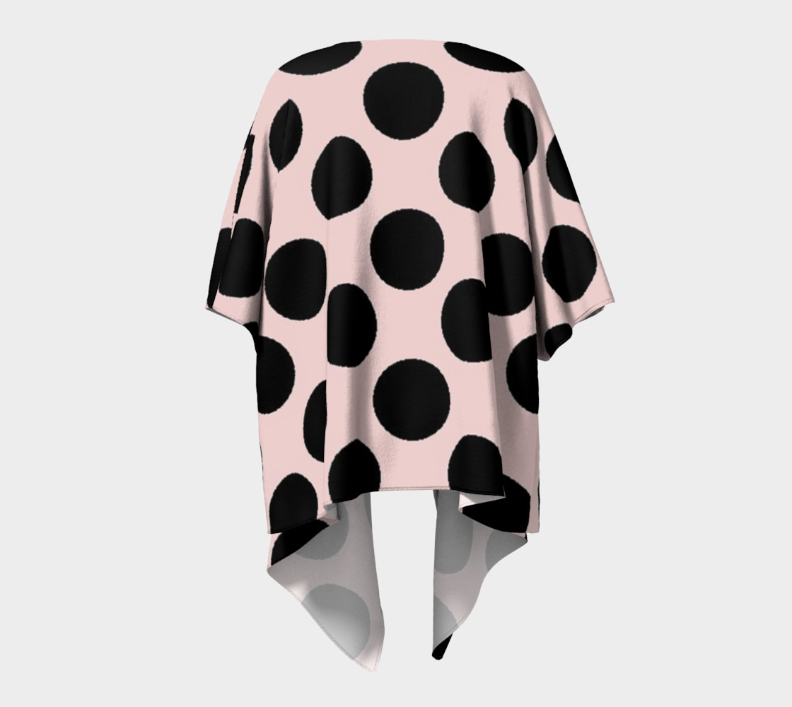 My Baby Girl Black Dots on Pink preview #4