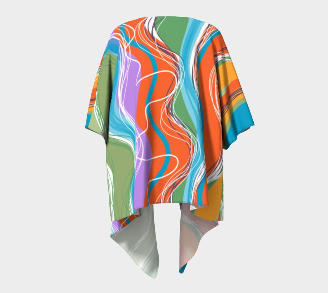 Sanabel Draped Kimono  preview #4