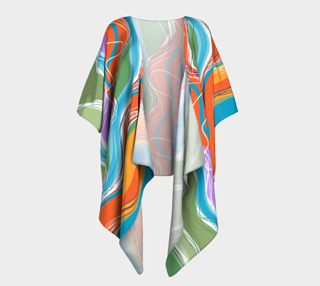 Sanabel Draped Kimono  preview #1