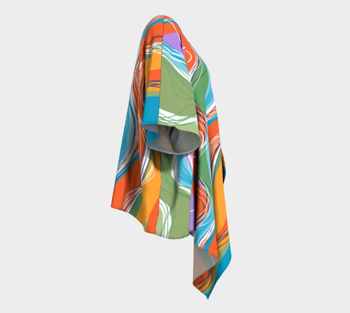 Sanabel Draped Kimono  preview #3