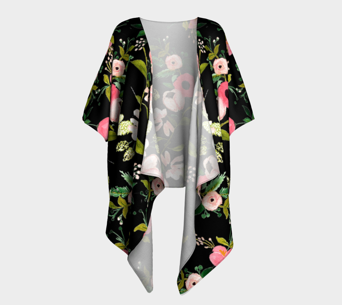 of kings and queens draped kimono preview #1