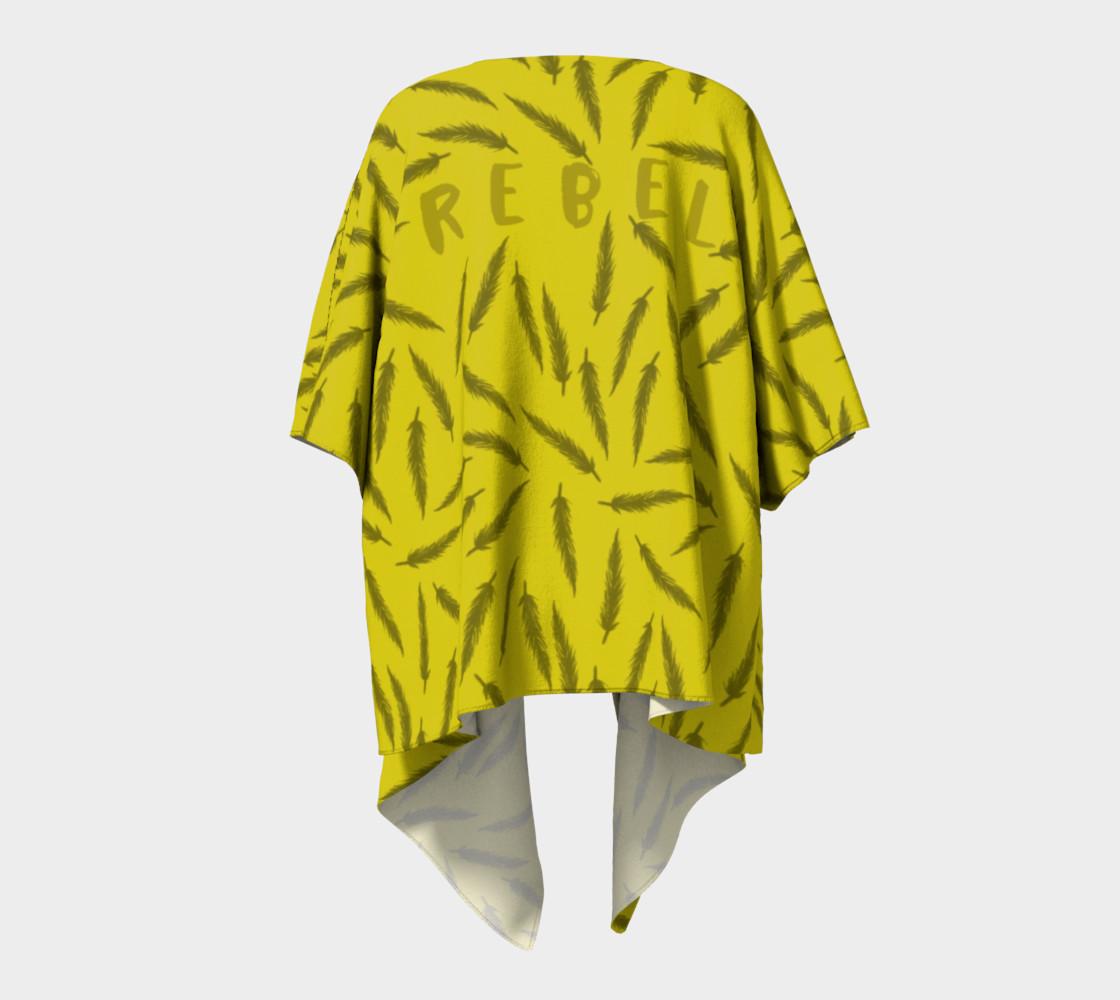 Rebel Draped Kimono in Mellow preview #4