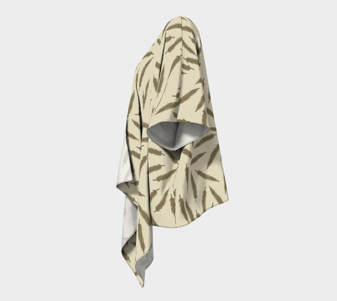 Rebel Draped Kimono in Two Sands preview #2