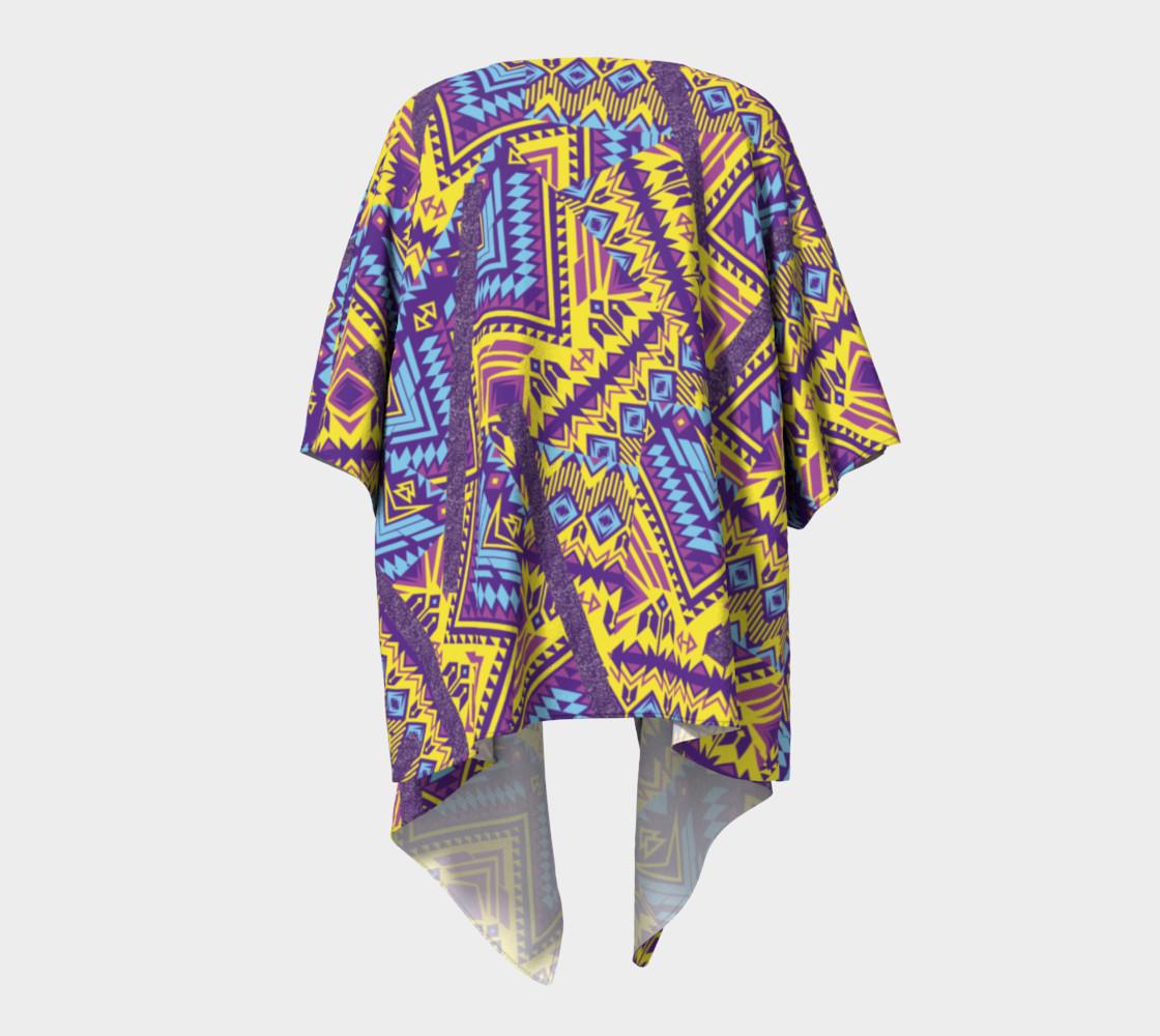 TIKI Draped Kimono  110-2 preview #4