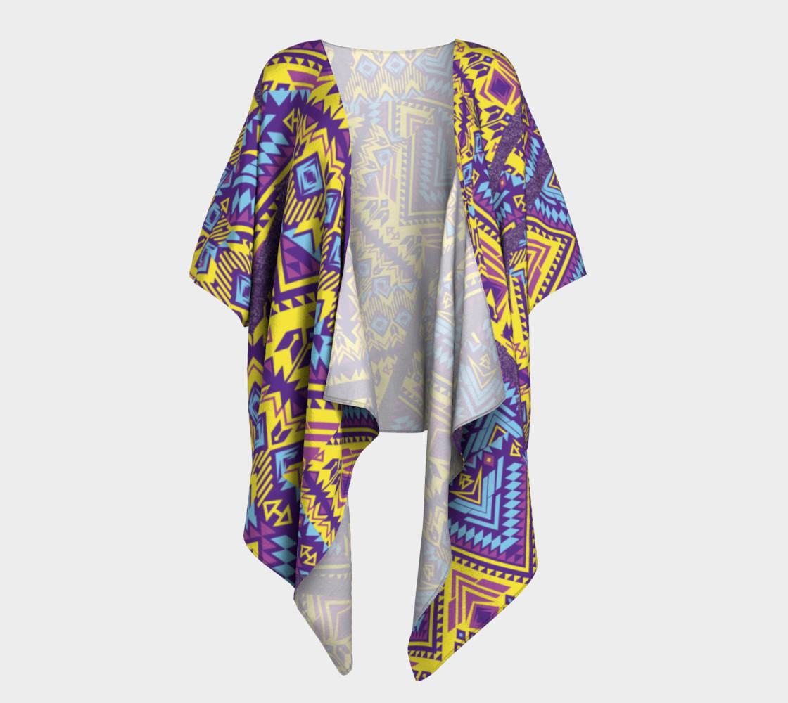TIKI Draped Kimono  110-2 preview #1