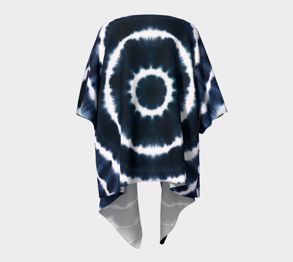 BOHO INDIGO - SEE YOU SOON DRAPED KIMONO preview #4