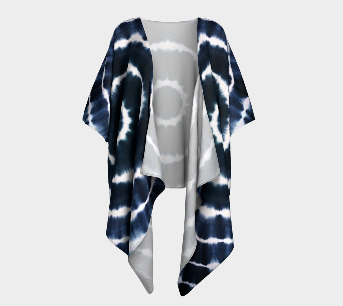 BOHO INDIGO - SEE YOU SOON DRAPED KIMONO 3D preview