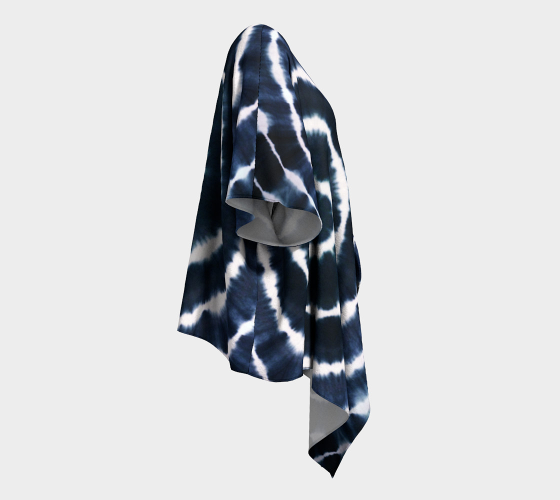 BOHO INDIGO - SEE YOU SOON DRAPED KIMONO preview #3