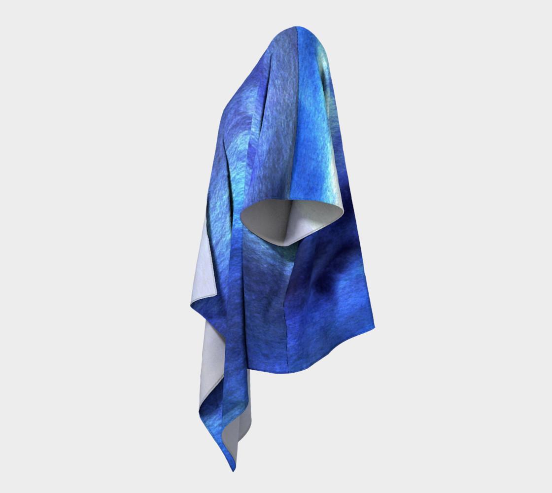 Blue watercolor Kimono preview #2