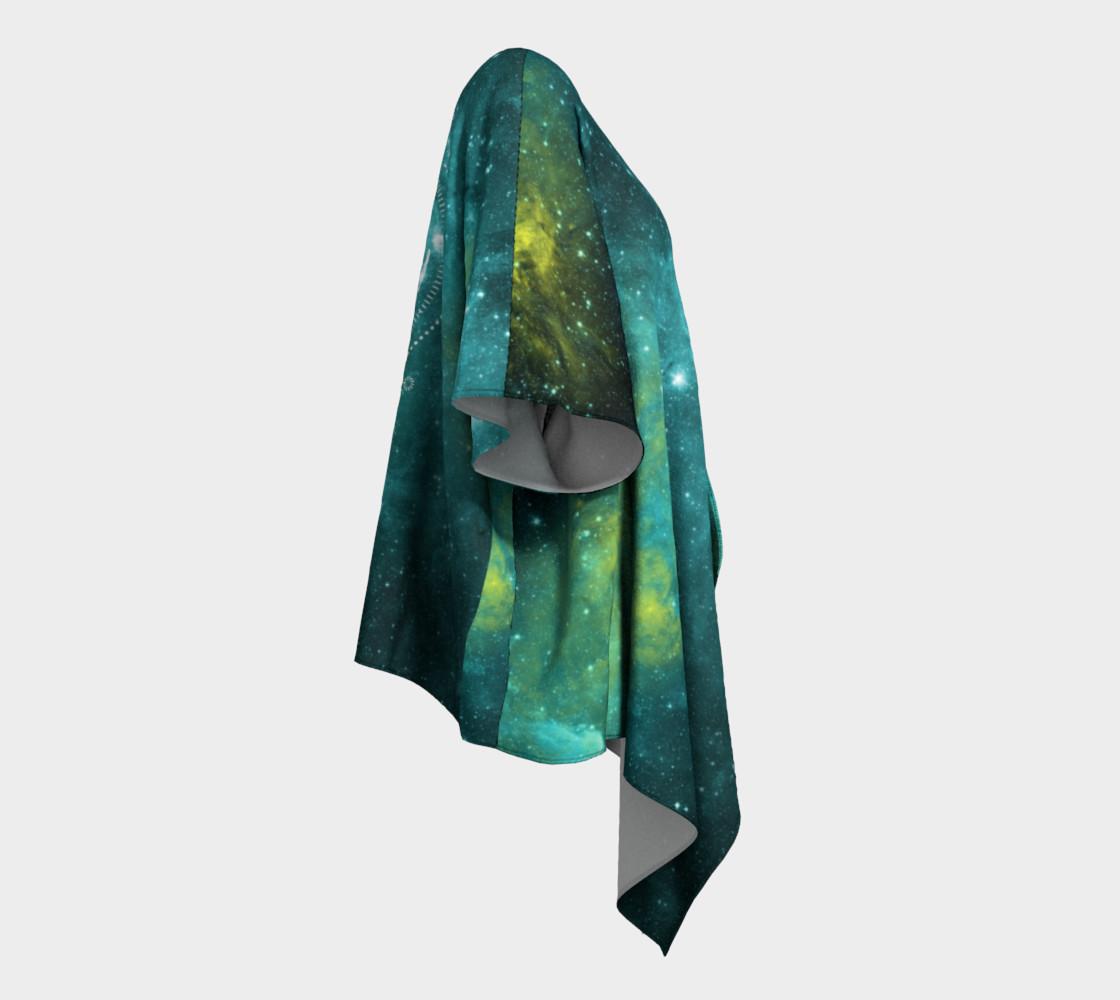 Aperçu de Blue green moon celestial geometric kimono #3