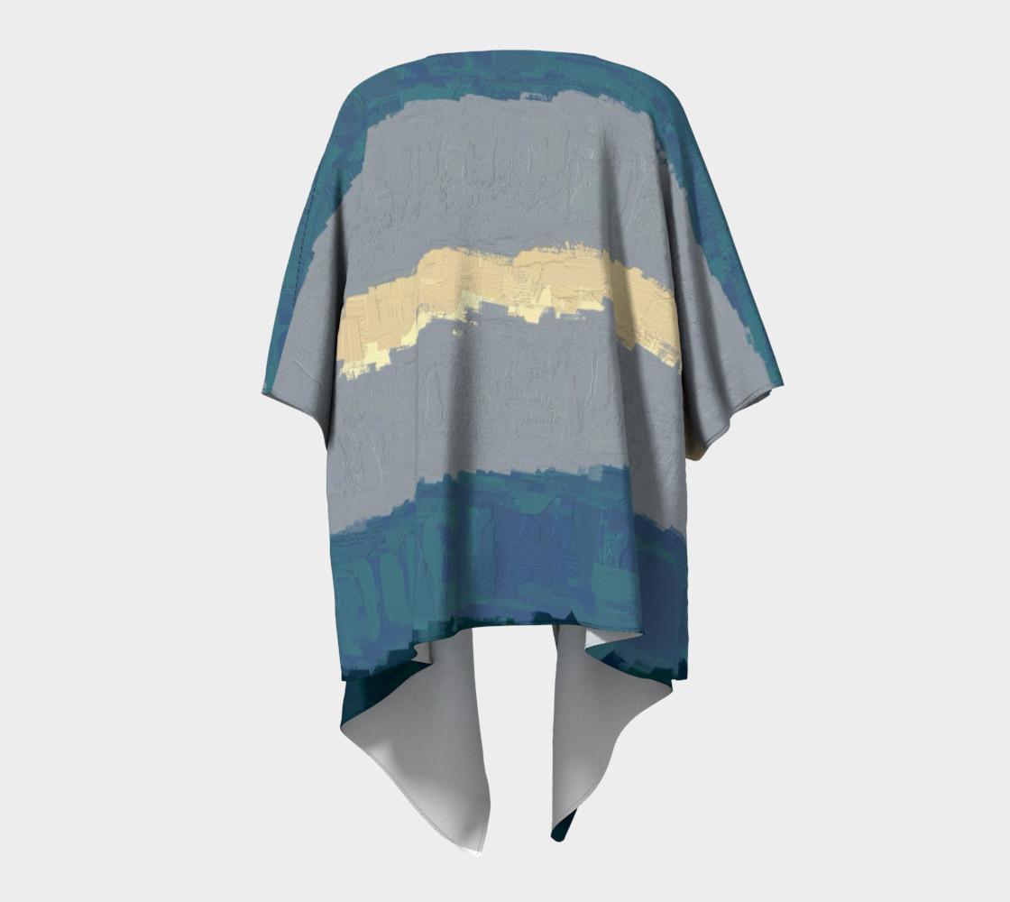 Kimono Drape•Fibonacci Strypes™ - Wave Catcher 2<br>SKU:BF07-001 preview #4