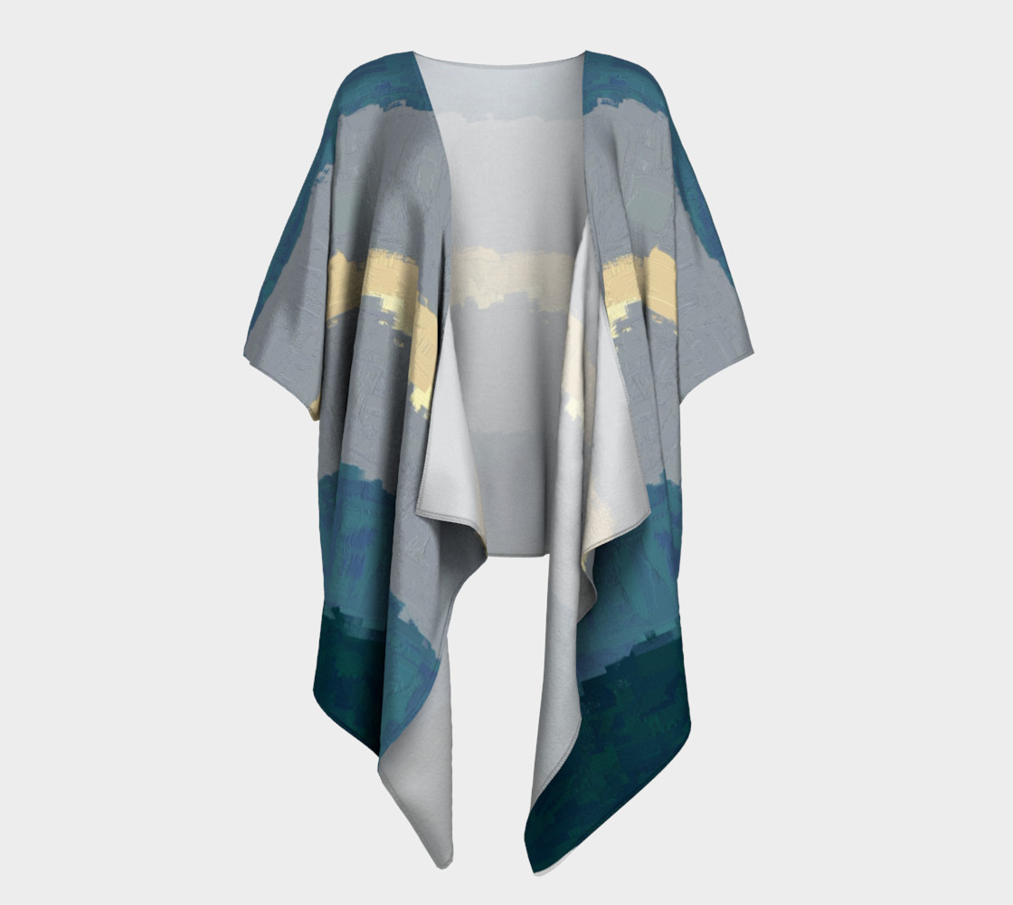 Kimono Drape•Fibonacci Strypes™ - Wave Catcher 2<br>SKU:BF07-001 preview #1