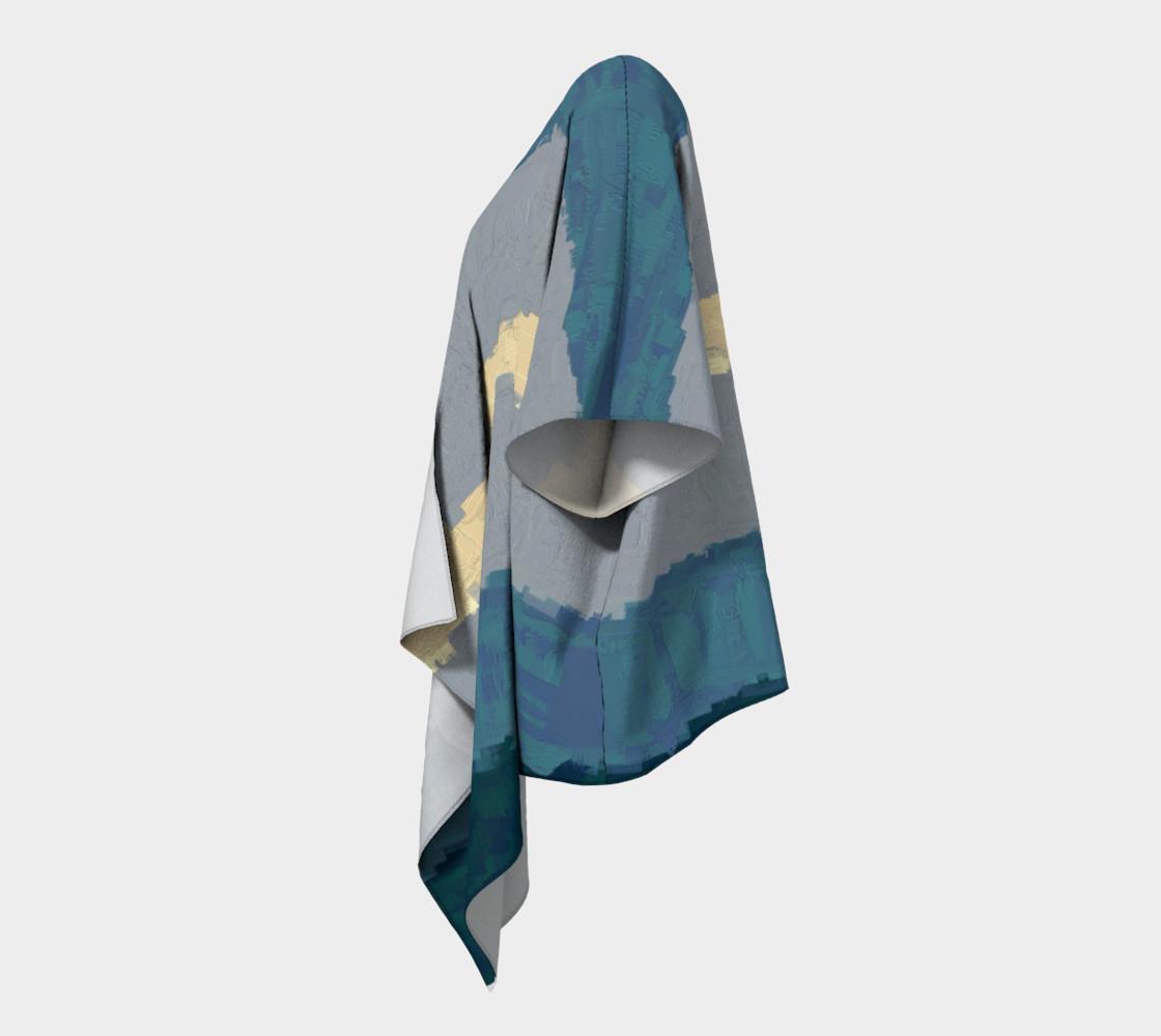 Kimono Drape•Fibonacci Strypes™ - Wave Catcher 2<br>SKU:BF07-001 preview #2