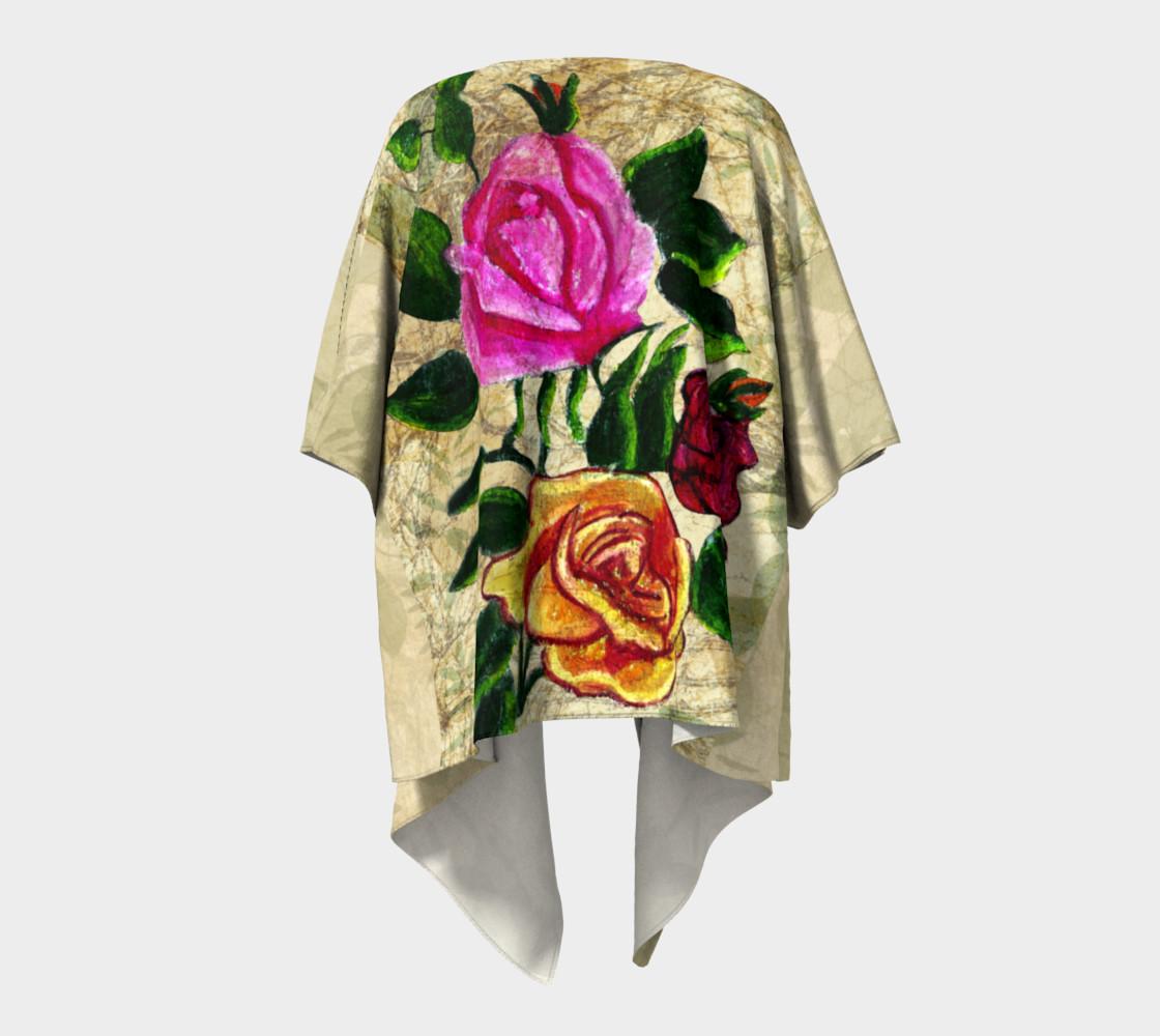 Aperçu de Vintage Roses Kimono by Tabz Jones  #4