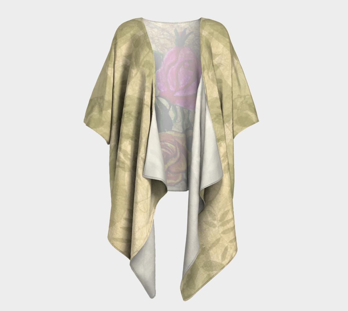 Aperçu de Vintage Roses Kimono by Tabz Jones  #1