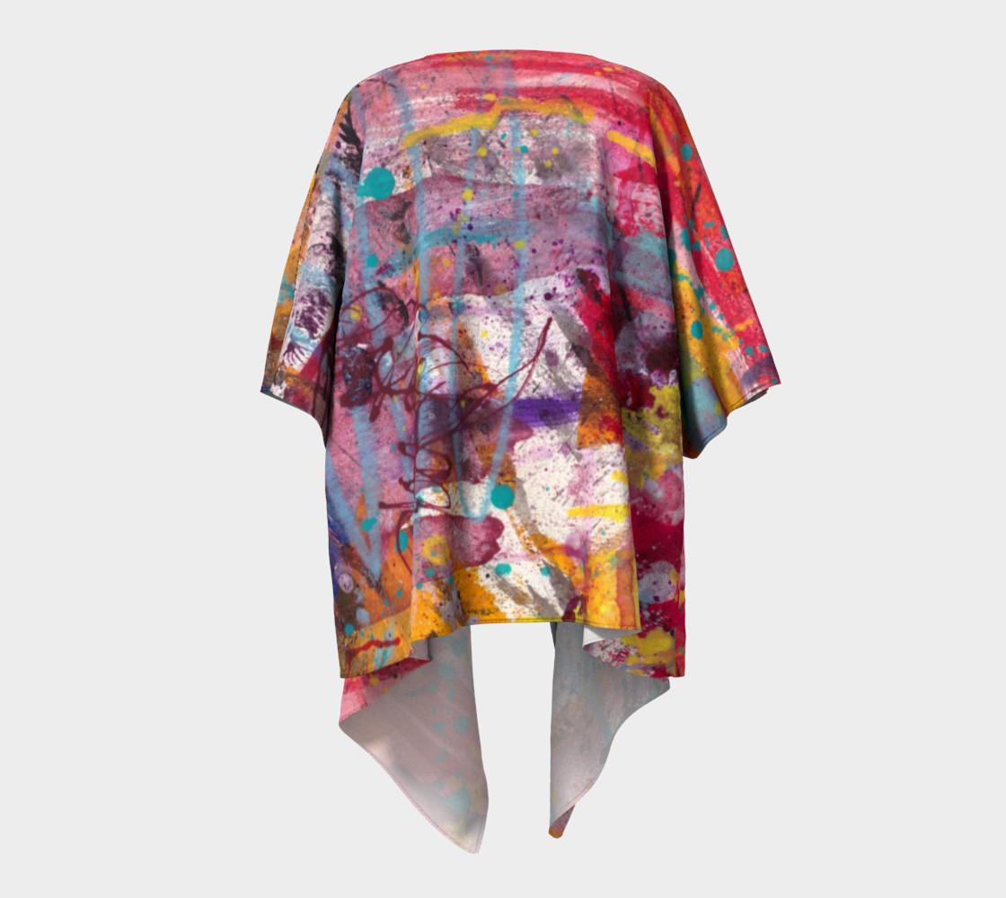 Happiness Draped Kimono preview #4
