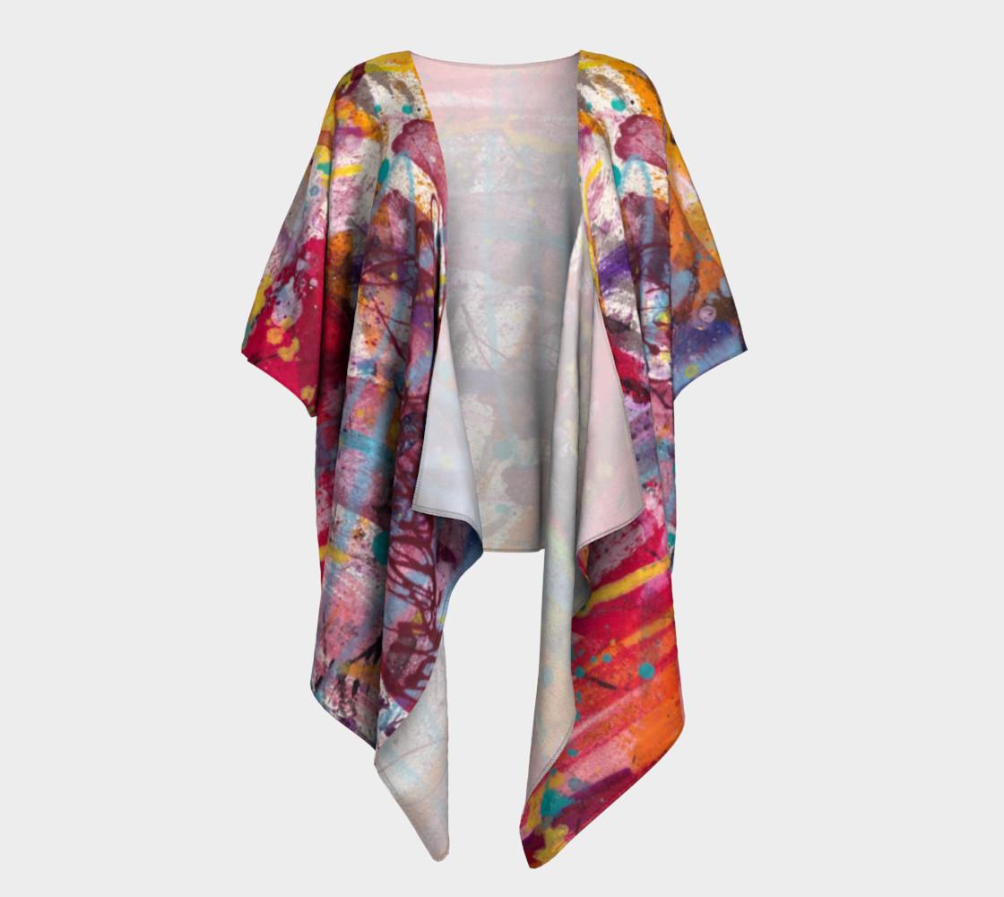 Happiness Draped Kimono preview #1