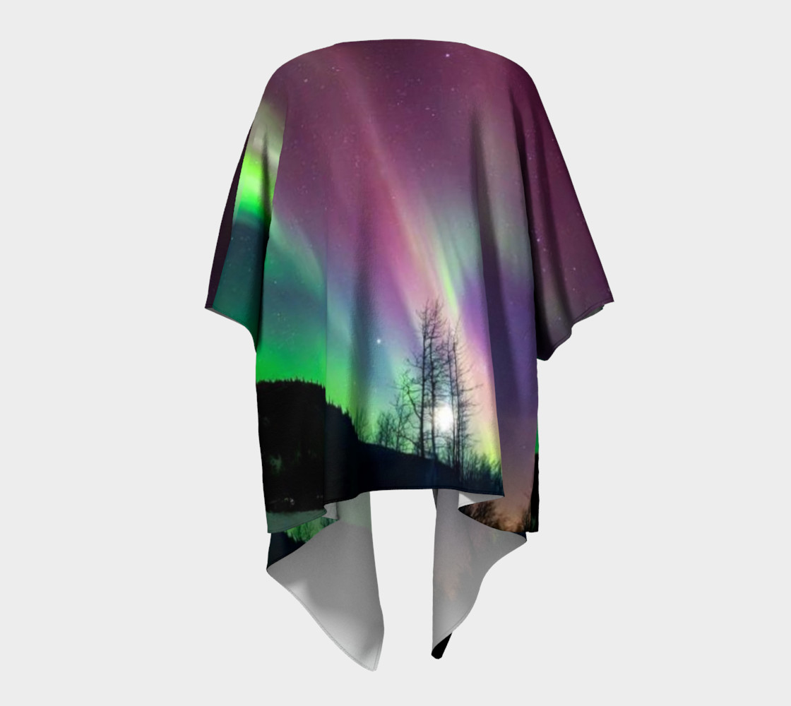 Lovely Night in Alaska, Draped Kimono preview #4