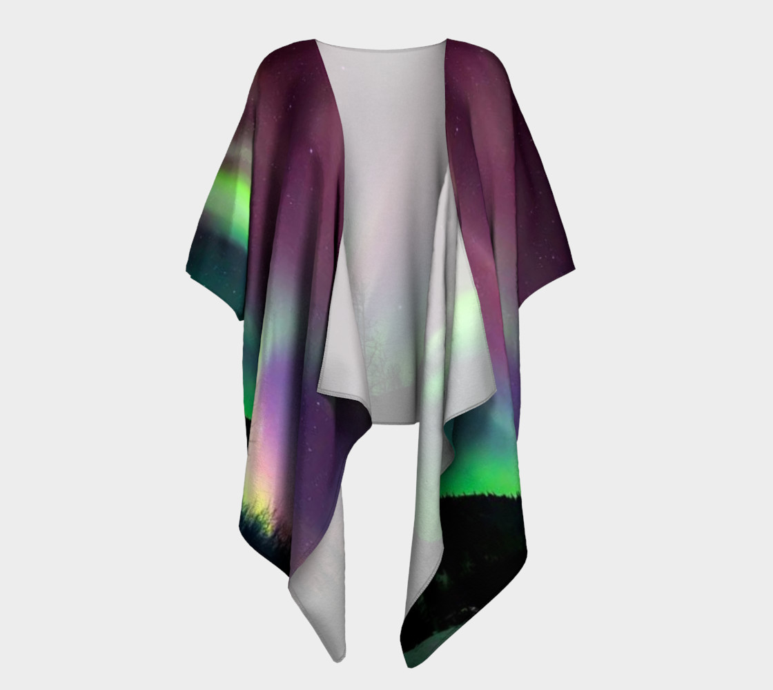 Lovely Night in Alaska, Draped Kimono preview #1