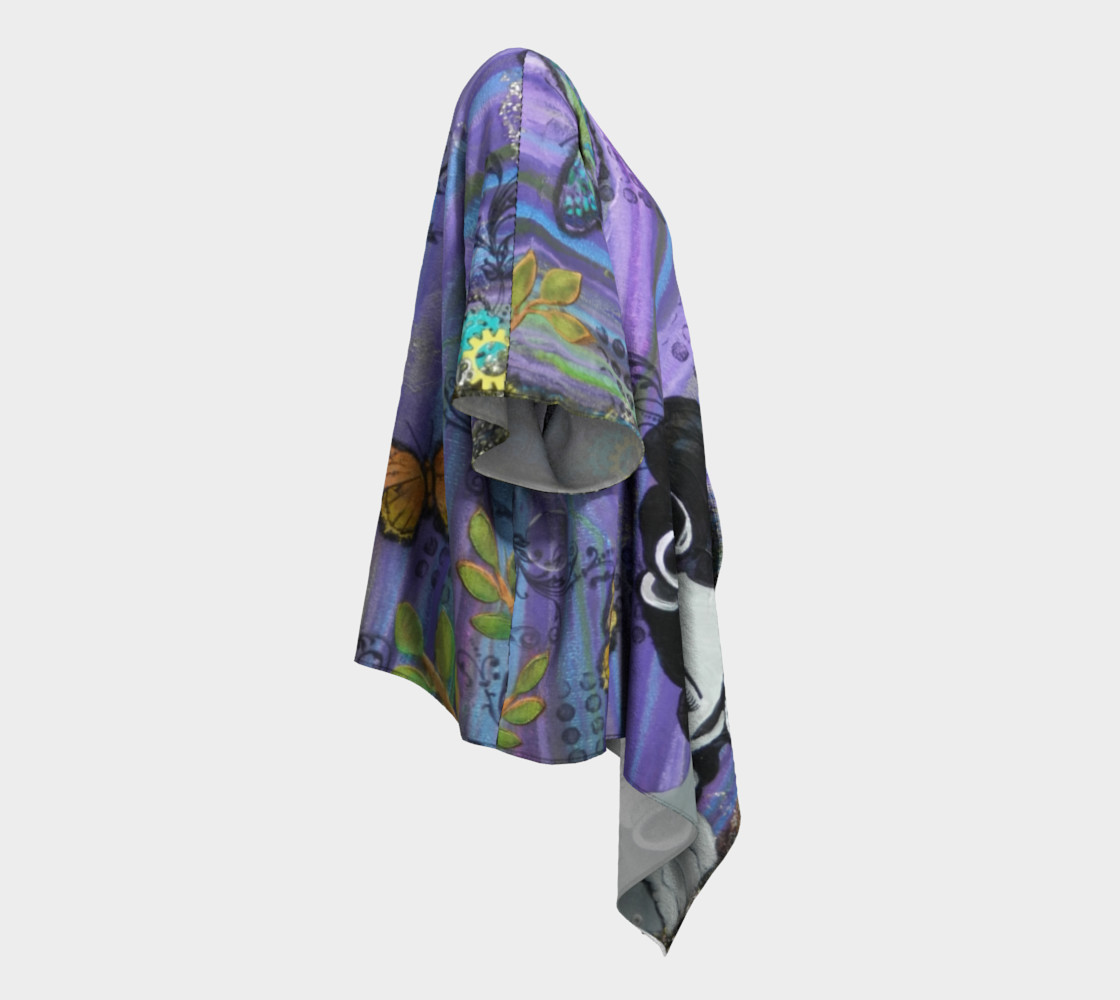 Hair Day Draped Kimono Miniature #4