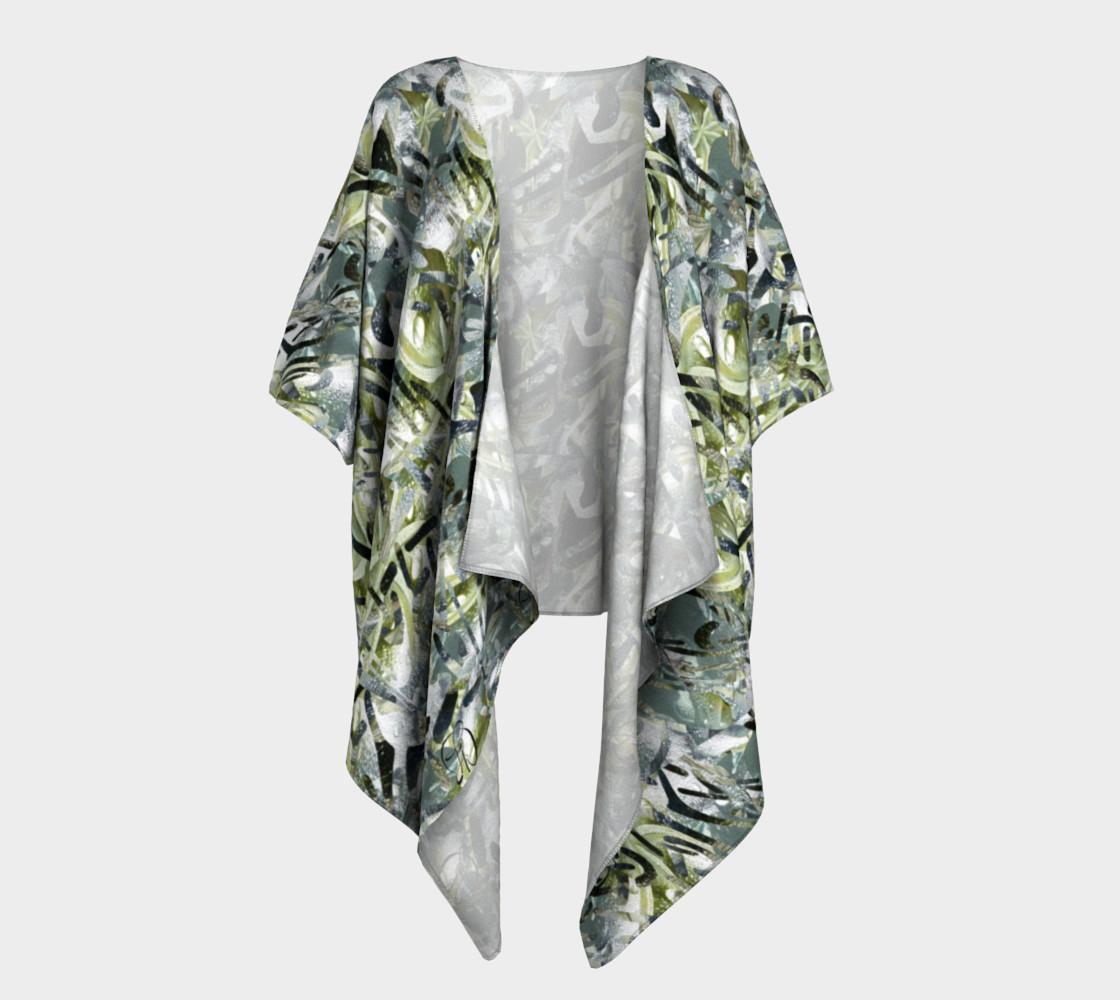 Playful Mariposa Dew Draped Kimono preview #1