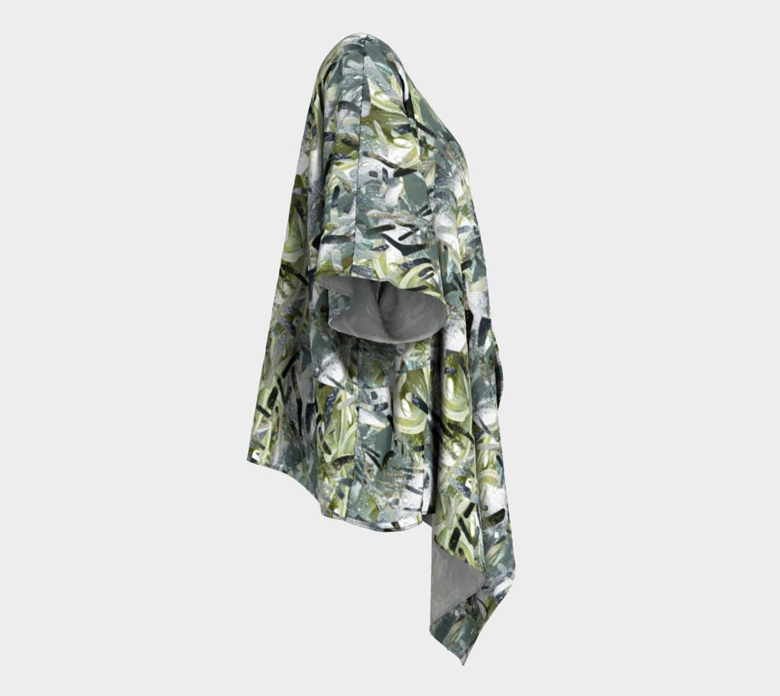Playful Mariposa Dew Draped Kimono preview #3