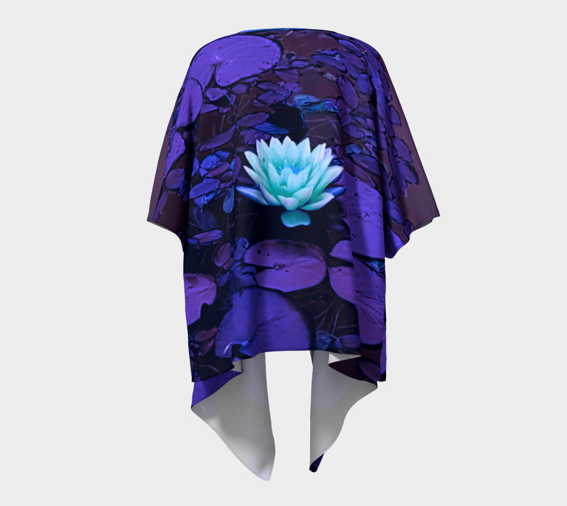 Lotus Flower Purple Turquoise preview #4