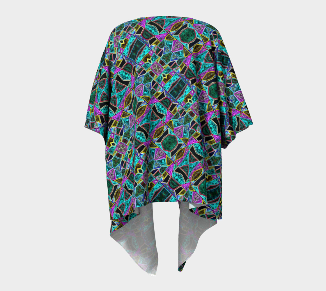 Peace Stained Glass Kimono Drape II preview #4
