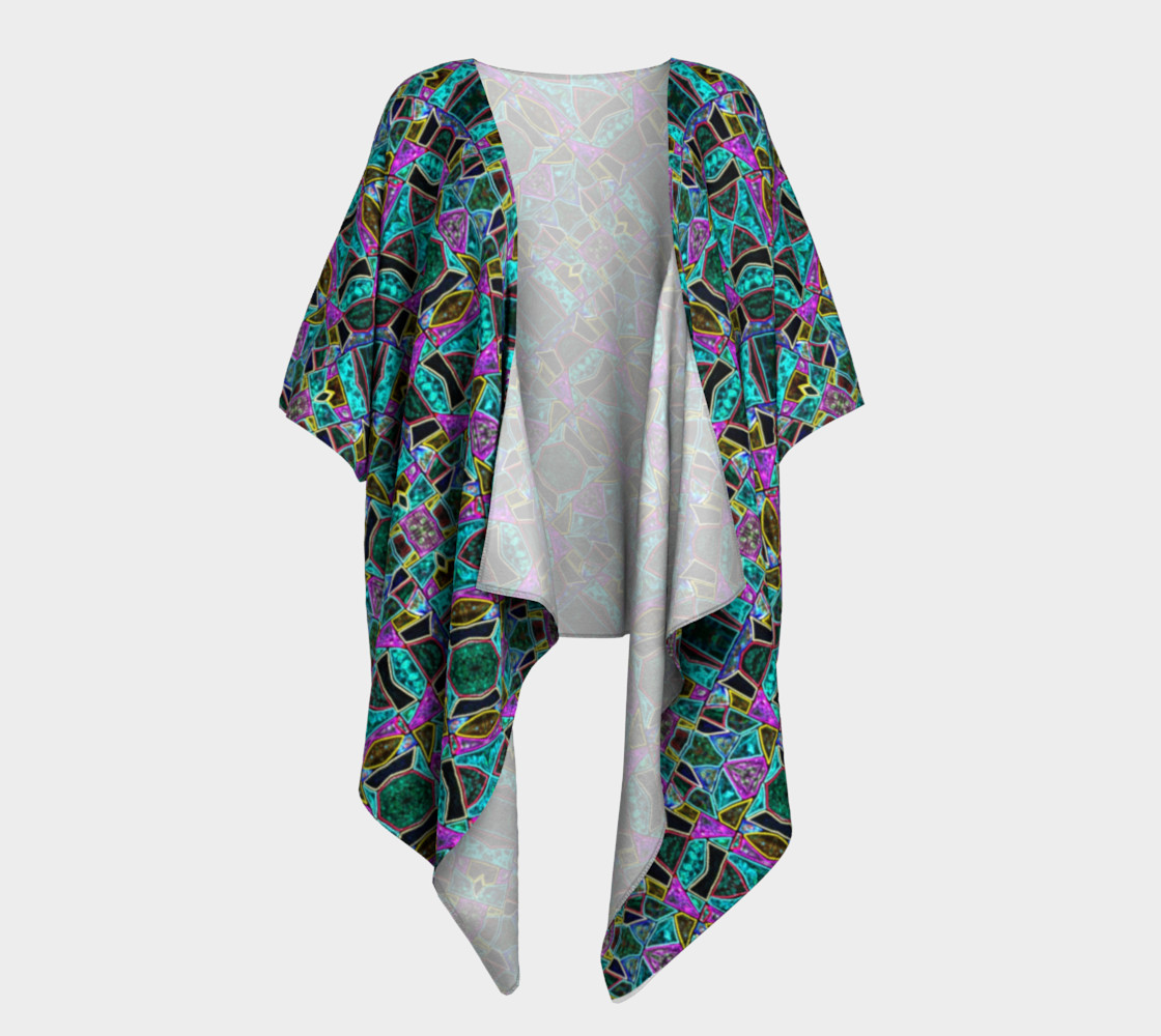 Peace Stained Glass Kimono Drape II preview #1